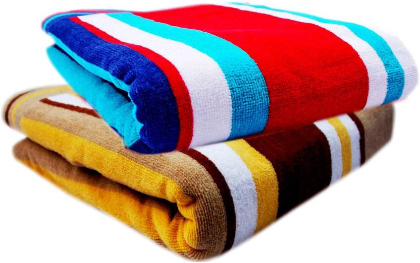 ceb9adfa10d K.S. Collection Big Size Cotton 450 GSM Bath Towel Set - Buy K.S. ...