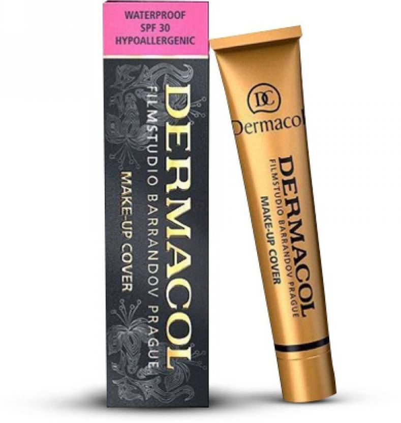 DERMACOL Make-Up Cover Waterproof Hypoallergenic SPF 30, Cover All ...