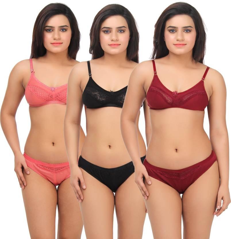 5956b52b4 Popocracy Lingerie Set - Buy Popocracy Lingerie Set Online at Best Prices  in India