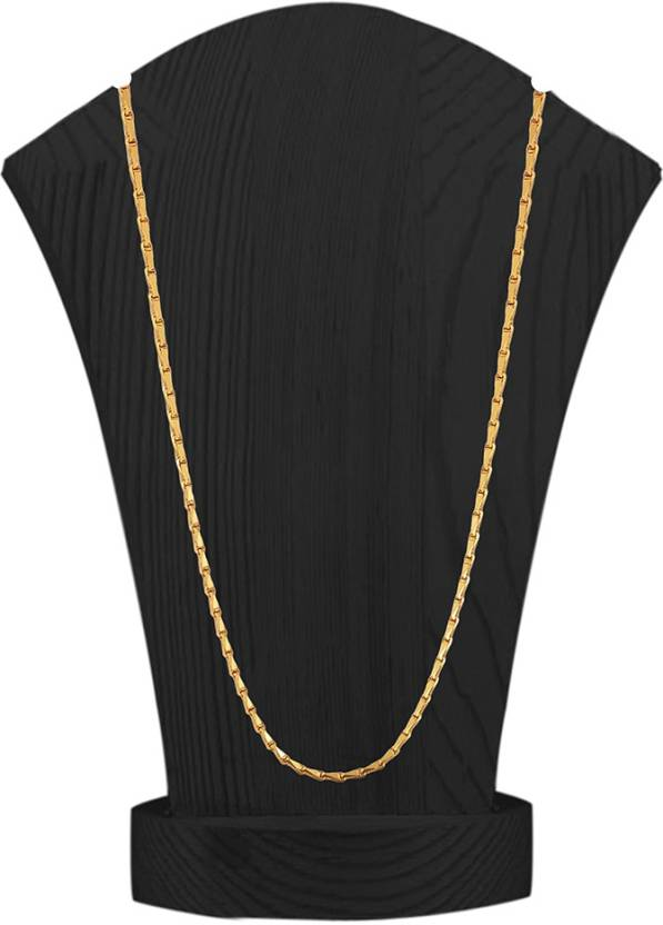 Kalyani Covering 1 Gram Gold Plated Chain For Women And S