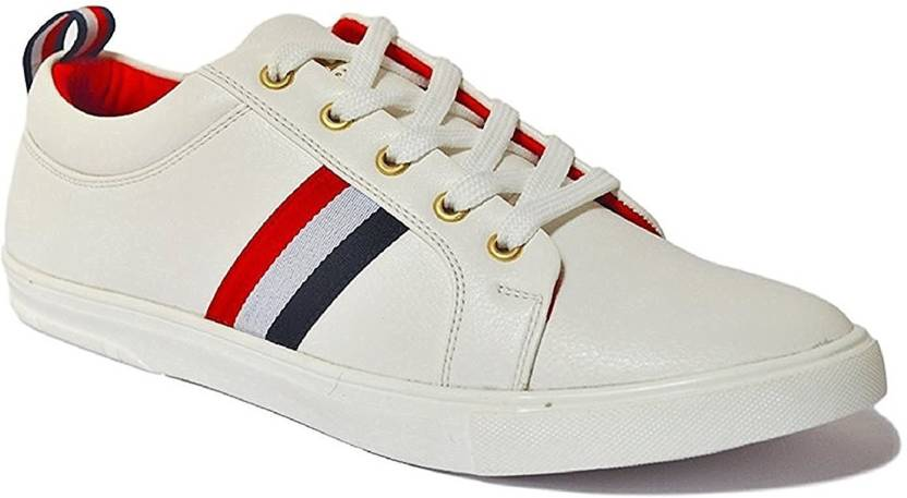 Deals4you Men's White Sneakers shoes Sneakers