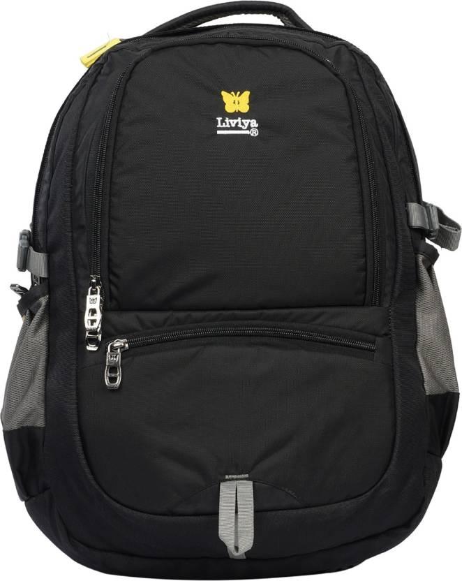 a93ac760f5a6 Liviya SB-1206 37 L Backpack Black - Price in India