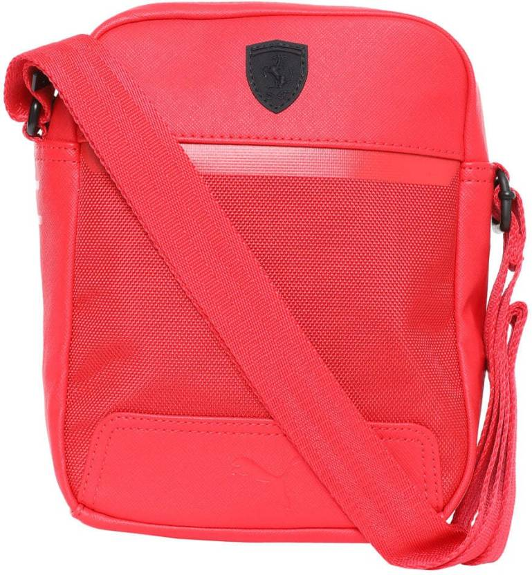 Puma Ferrari LS Portable Sling Bag (Red 997aad1404dfc