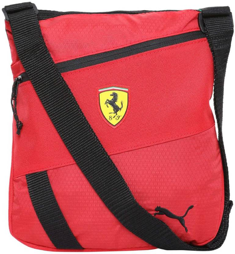 19775b35bbb9 Puma Ferrari Fanwear Portable Sling Bag (Red