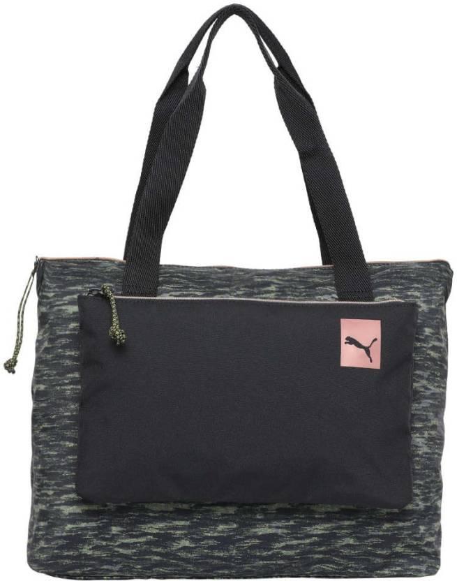 b5114b8ca5cd Puma Prime 2-in-1 Shopper Shoulder Bag (Black