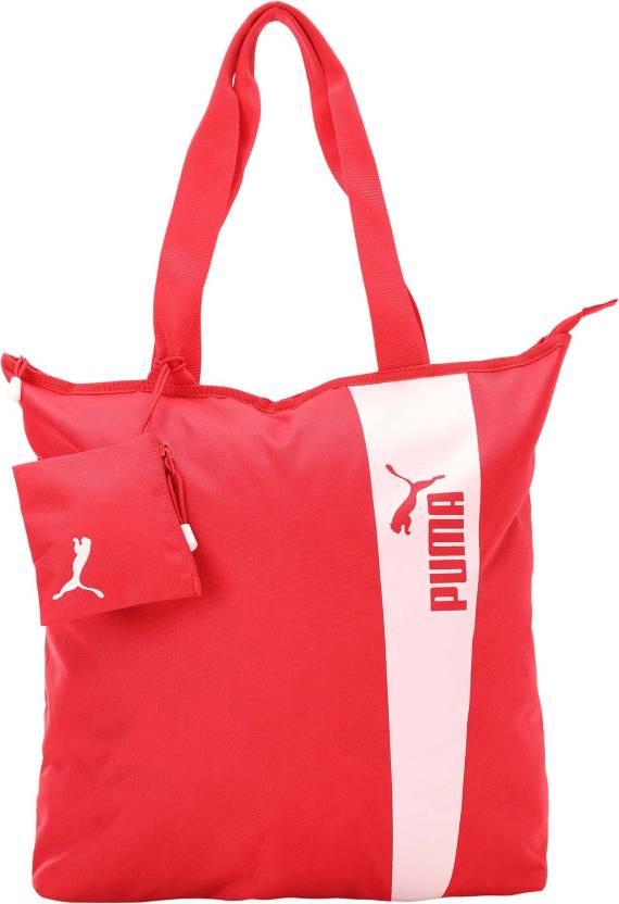 90108ce1d1 Puma Core Style Shopper Shoulder Bag (Pink