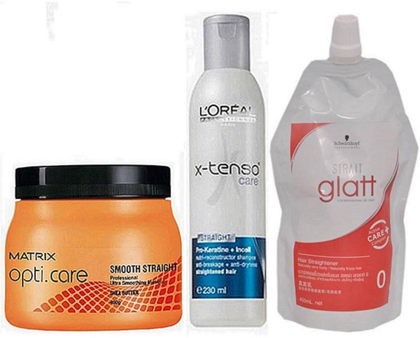 Matrix Opti Care Hair Spa, L'oreal X-Tenso Care Shampoo & Schwarzkopf