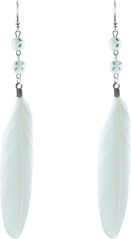 Flipkart Buy Angelfish Feather Dream Catcher Earrings For Gorgeous Dream Catcher Earrings Online