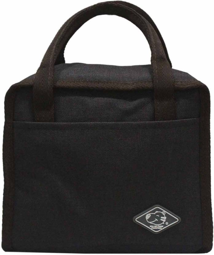 ef3680608 Ez-life Thermal Premium Lunch Bag- Black Waterproof Lunch Bag (Black, 10  inch)