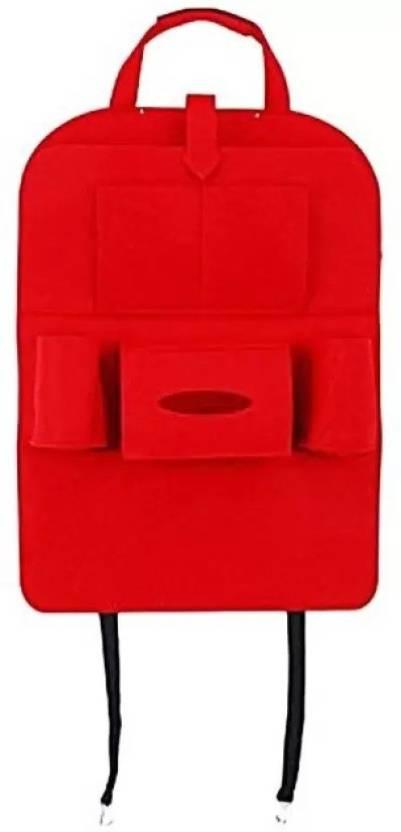 starbust car back seat storage bag for mobile car documents paper