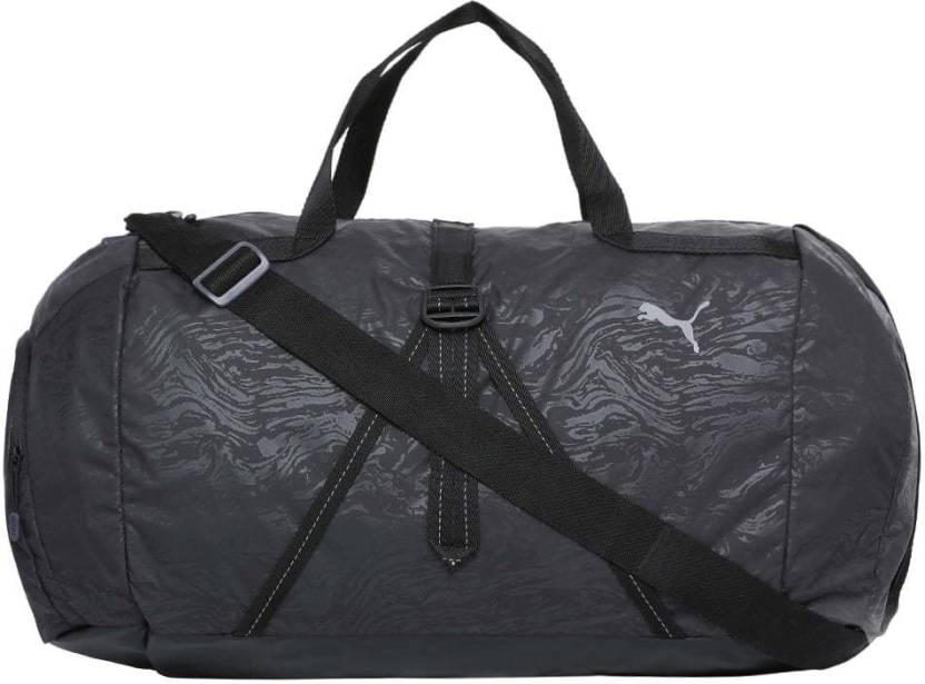 aee4d4426d Puma Fit AT Sports Duffle Gym Bag Black-reflective silver - Price in ...