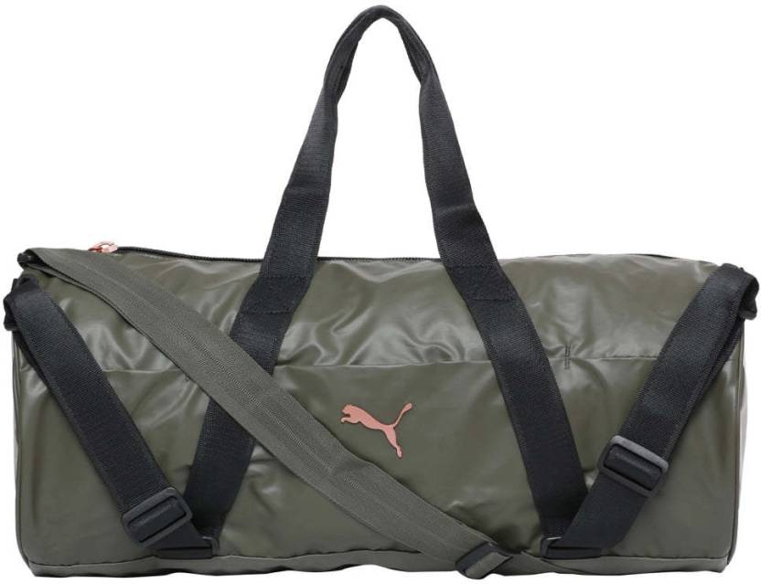 Puma VR Combat Sports Bag Travel Duffel Bag Olive Night-Black ... 0bac3ba2c280f