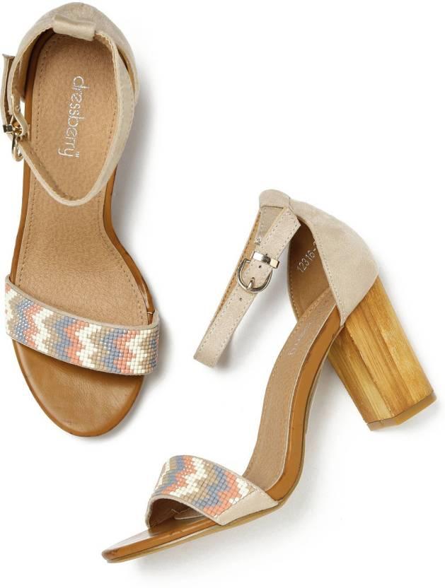 6fb99c387317 Dressberry Women Multicolor Heels - Buy Dressberry Women Multicolor Heels  Online at Best Price - Shop Online for Footwears in India