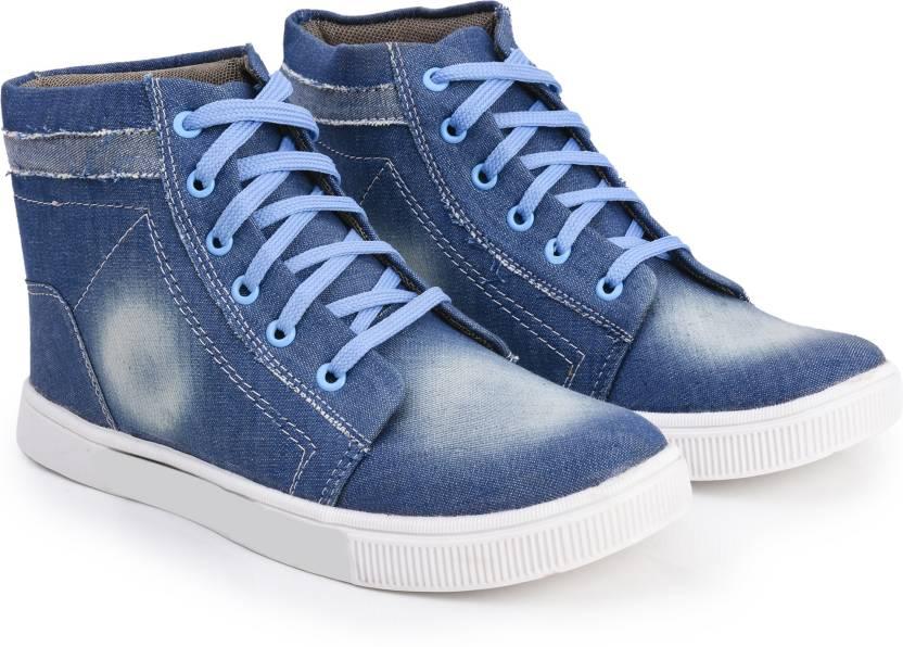 44d42c11cad Foot n Style fs014 Denim Casual Sneakers For Men - Buy Foot n Style ...