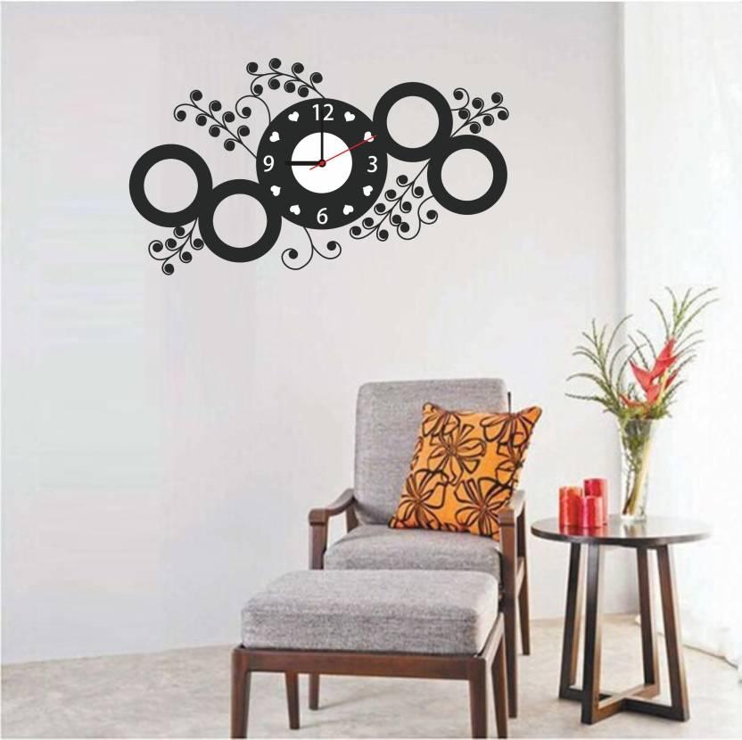 galaxy comfort medium wall clock sticker price in india - buy galaxy