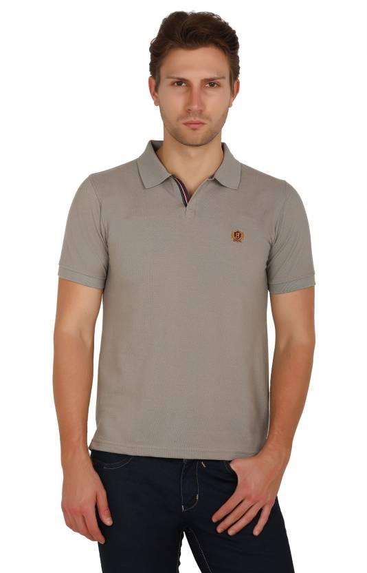 91db767d6135 UNI COLORS POLO Solid Men's Polo Neck Beige T-Shirt - Buy Beige UNI COLORS  POLO Solid Men's Polo Neck Beige T-Shirt Online at Best Prices in India ...