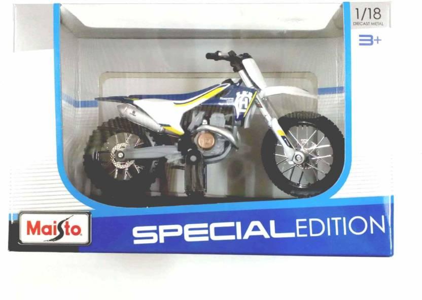 Maisto Diecast Metal bike 1:18 Husqvarna FC 450