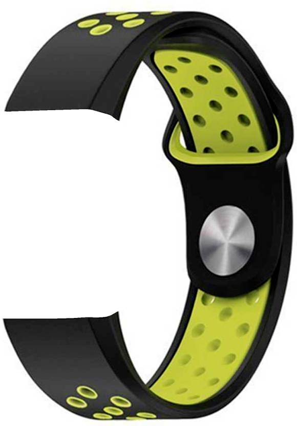 Shopizone Smart Fitbit charge2 Black Green color SmartWatch custom  Watchband Smart Band Strap