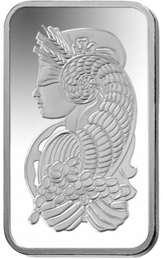 Kataria Jewellers Pamp Suisse Lady S 999 10 G Silver Bar Price In