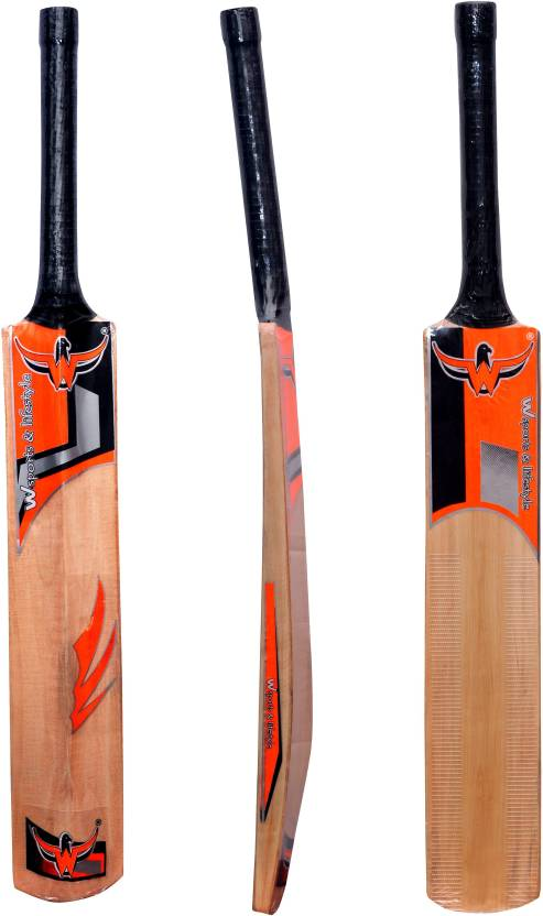 W Sports Lifestyle Natural Polish Popular Willow Cricket