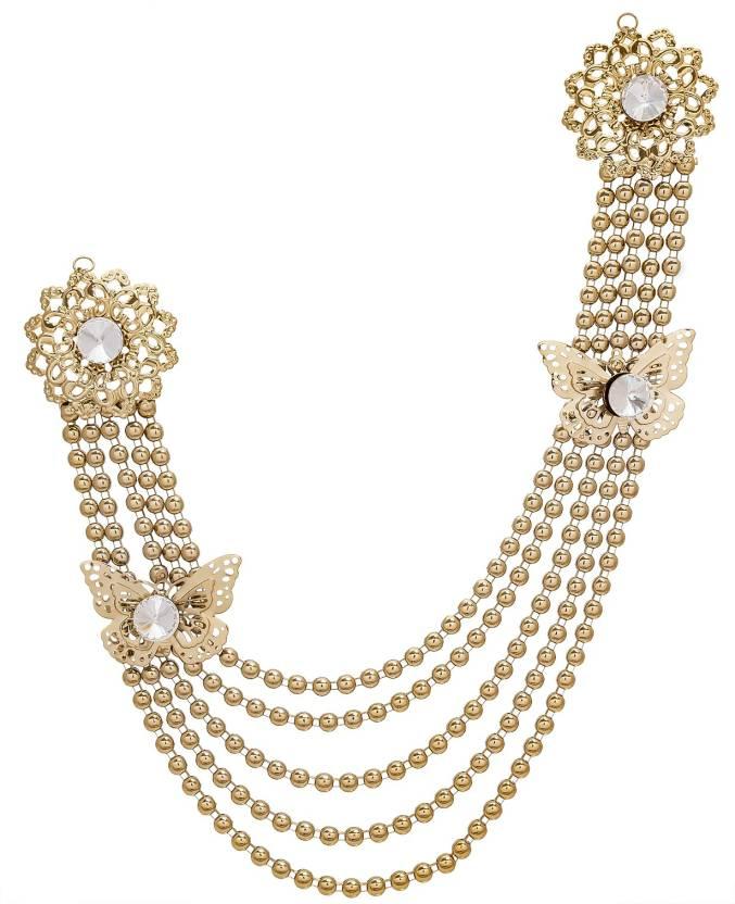 0ec2e7022 Aadita Ethnic Traditional Saree Brooch Brooch Price in India - Buy ...