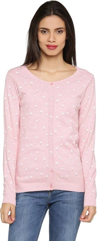 b81a90786 Honey By Pantaloons Women s Button Cardigan Price in India - Buy ...