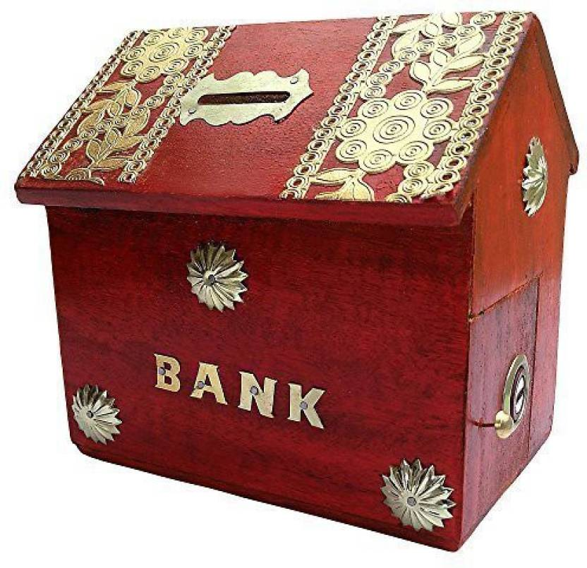 Jk Handicrafts Jk Hsndicrsfts Money Box Coin Bank Price In India