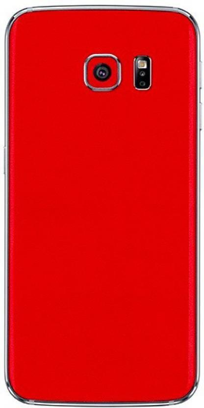 Smartskkins SM-G920F SAMSUNG Galaxy S6 Matte Red Mobile Skin Price