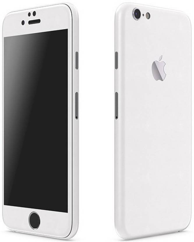 best website abdbc 87a5b Smartskkins A1524 Apple iPhone 6 Plus Matte White 3M Vinyl skin for  Front,Back and Sides Mobile Skin
