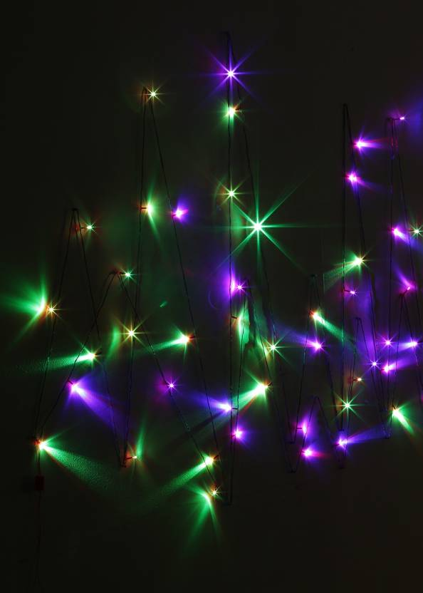 Little India 400 inch Red, Green, Blue Rice Lights