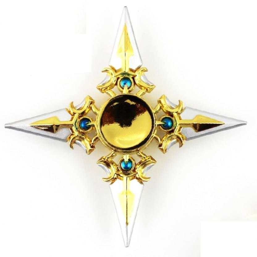 Go Grab It Ninja Shuriken Shadow Master Spinner Silver And Gold
