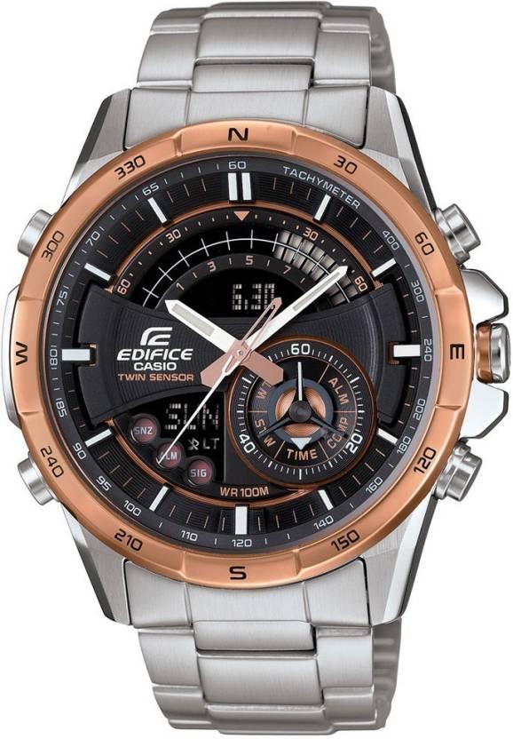 Casio EX265 EDIFICE Twin Sensor Watch - For Men - Buy Casio EX265 EDIFICE  Twin Sensor 7839434c6129