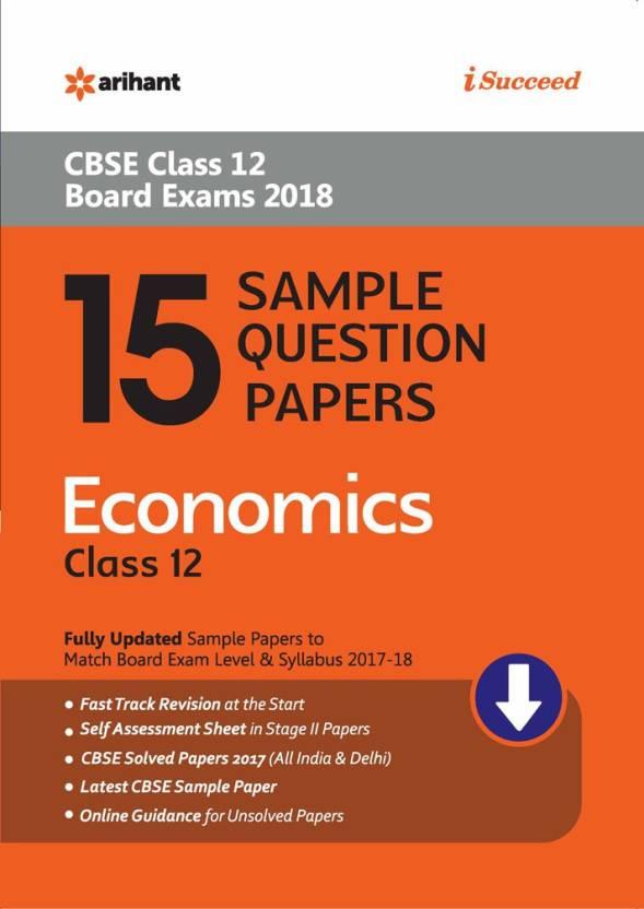 Isc class 12 economics sample paper   aglasem schools.