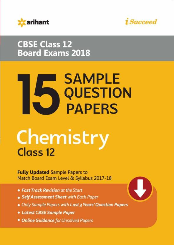 15 sample question papers chemistry class 12th cbse buy 15 sample 15 sample question papers chemistry class 12th cbse malvernweather Images