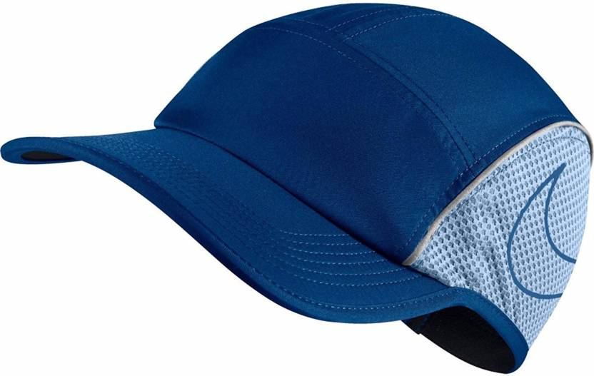 Nike Solid Blue Unisex U AROBILL AW84 RUN Cap - Buy Nike Solid Blue Unisex  U AROBILL AW84 RUN Cap Online at Best Prices in India  863d26fea9f5
