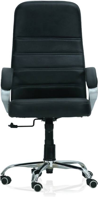 Green Soul London_HB_Black Leatherette Office Executive Chair