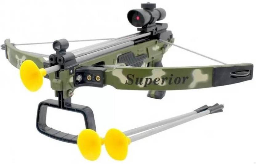 Krypton Real Archery Sport Crossbow Toy With Safe Suction Dart