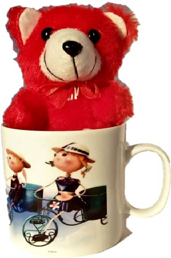 technochitra BHAI DOOJ GIFT FOR SISTER MESSAGE MUG AND CUTE TEDDY (Red COLOR) Mug, Soft Toy Gift Set Price in India - Buy technochitra BHAI DOOJ GIFT FOR ...