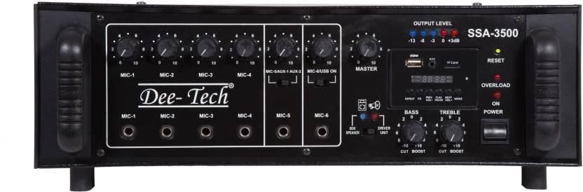 Dee Tech SSA-3500 350 W AV Power Amplifier Price in India