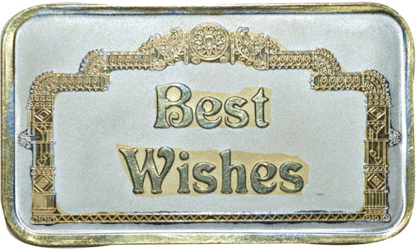 Kataria Jewellers Best Wishes S 999 10 G Silver Bar Price In India