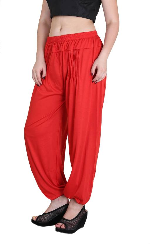 110b1a9bf6 Jollify Solid Lycra Women's Harem Pants - Buy Jollify Solid Lycra Women's Harem  Pants Online at Best Prices in India | Flipkart.com