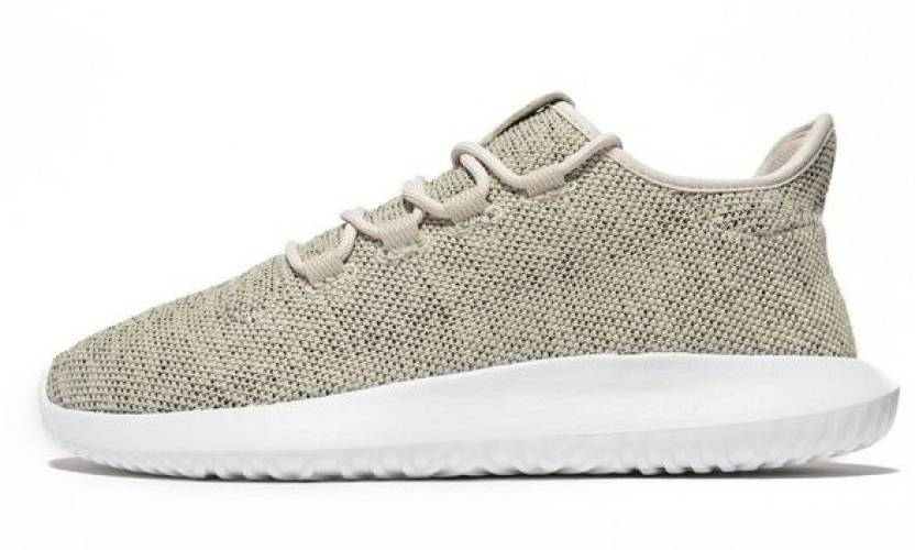 low priced d828e a54fa Asumer Adidas Tubular Shadow Knit Outdoors For Men (Beige)