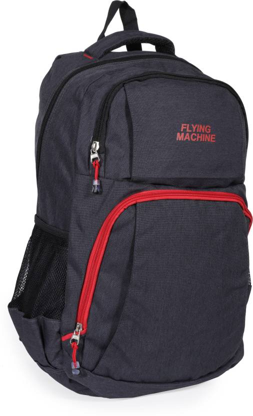 f8934cfbc9a6 Flying Machine LAPTOP BAGS 15 L Backpack BLACK - Price in India ...