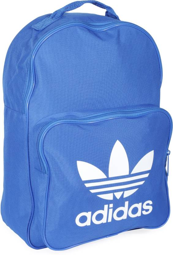 ADIDAS ORIGINALS BP CLAS TREFOIL 25 L Backpack BLUE - Price in India ... 207008d48234d