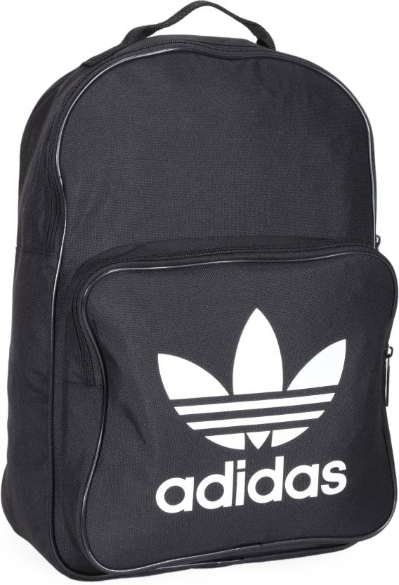 ca285ac4ec32 ADIDAS ORIGINALS BP CLAS TREFOIL 25 L Backpack BLACK - Price in ...