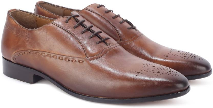 aa9213dd6f4370 Hush Puppies By Bata ELAN OXFORD Lace Up For Men - Buy Tan Color ...