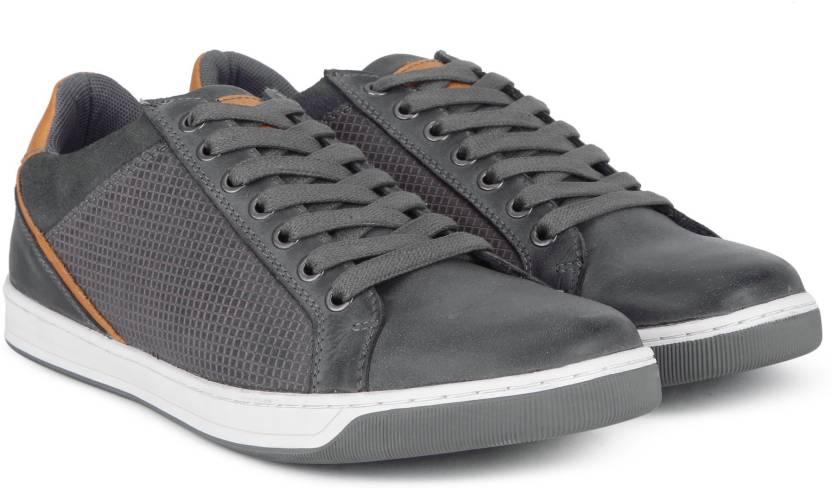 872c880770f Steve Madden Sneakers For Men - Buy GREY LEATHER Color Steve Madden ...