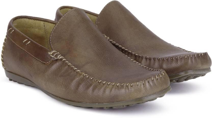 ae2c2748c91 Steve Madden Loafers For Men - Buy BROWN LEATHER Color Steve Madden ...