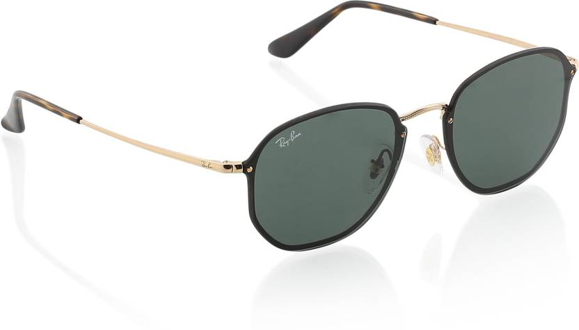 25125dac68 Buy Ray-Ban Retro Square Sunglasses Green For Men   Women Online ...
