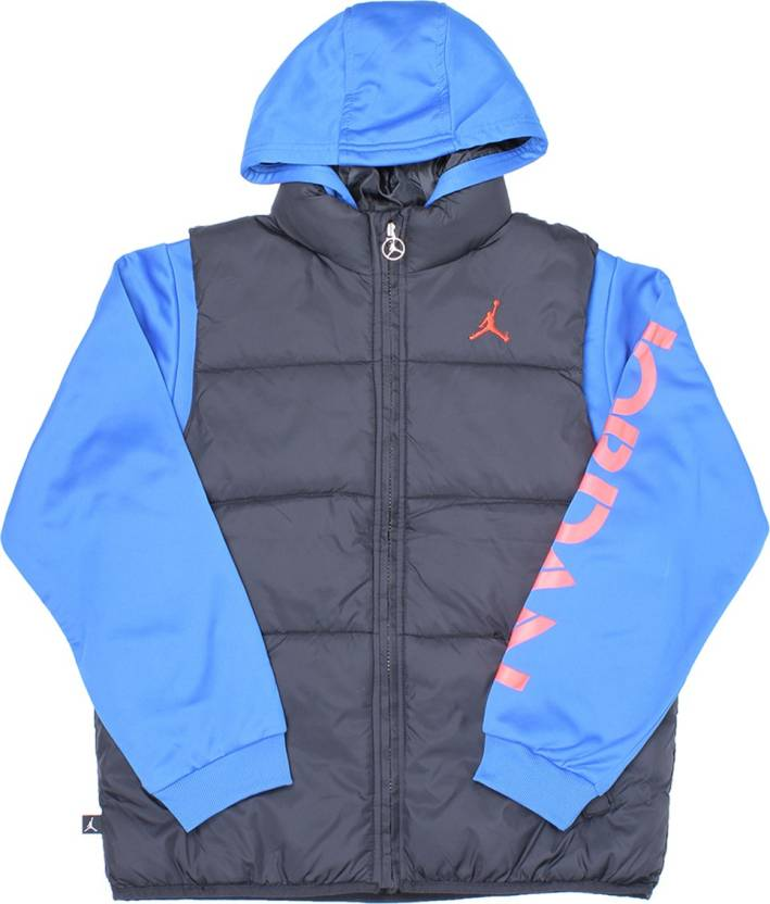 new products 13d7d 9f330 Jordan Kids Full Sleeves Solid Boys Sweater Top Jacket - Buy Black Sport Blu  Jordan Kids Full Sleeves Solid Boys Sweater Top Jacket Online at Best  Prices in ...